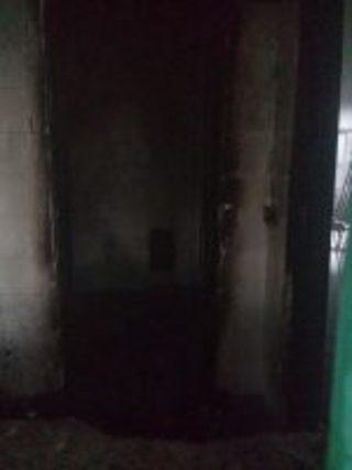 Incendio alla stazione di Casoria