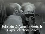 Fabrizio & Aurelio Fierro Jr Capri Selection Band Live su Facebook dal ristorante Rosolino a Napoli