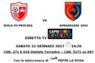 Su Capri Event il match Isola di Procida – Afragolese
