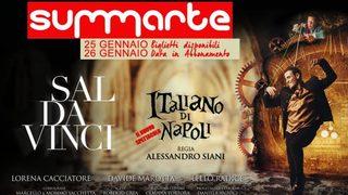 """Il Teatro Summarte presenta """"Un italiano di Napoli"""" con Sal Da Vinci e la regia di Alessandro Siani"""