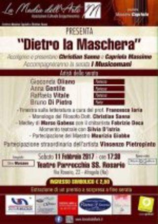 """Evento carnevalesco """"Dietro la maschera"""": l'11 febbraio La Madia dell'Arte fa festa di poesia e bellezza"""