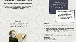 La Benedetto Croce incontra…Croce
