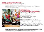 """Presentatione del libro """"Core e Lengua"""" di Gaetano Massa e Pino Miraglia"""