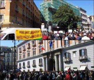 Manifestazione antirazzista Napoli 1 marzo 2017