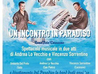 """Un incontro in Paradiso"" al Teatro Gelsomino"
