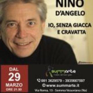"""IL TEATRO SUMMARTE presenta  Nino D'Angelo in """"Io, senza giaccia e cravatta"""""""