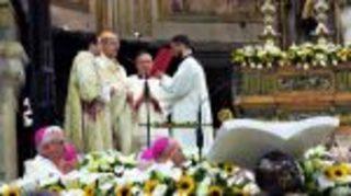 L'Arcivescovo di Napoli Crescenzio Sepe festeggia 50 anni di sacerdozio