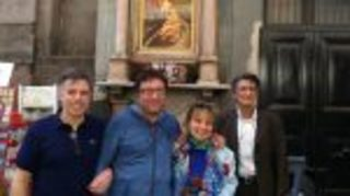 In Via San Gregorio Armeno ritorna il dipinto dedicato a San Gaetano Thiene