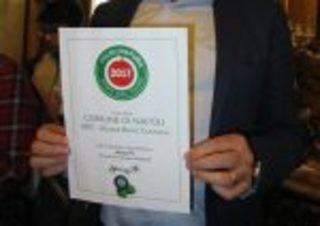 """Premio Natura 2017 al Comune di Napoli. De Magistris: """"In città si sta creando occupazione"""""""