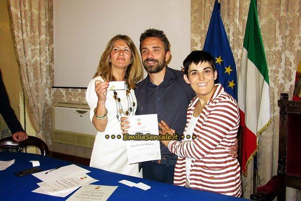 Social Car Driver all'attivista Arcigay Maria Rosaria Malapena con la Senatrice Monica Cirinnà