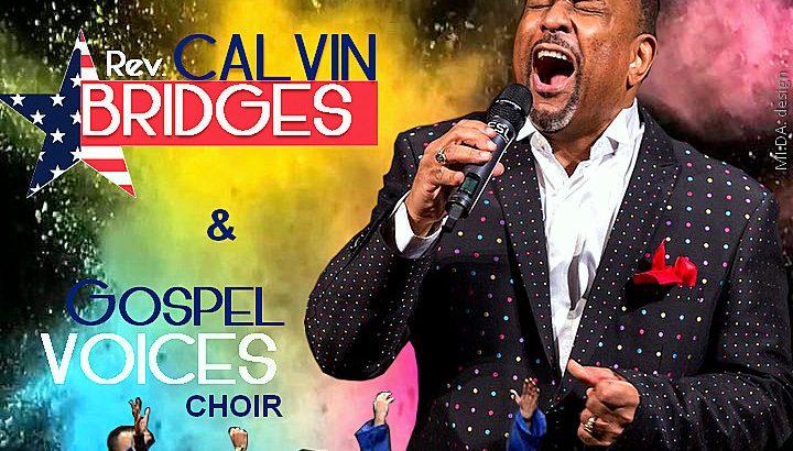 """Alla Basilica dello Spirito Santo di Napoli  Calvin Bridges e il coro Gospel Voices in """"Gospel Explosion"""""""