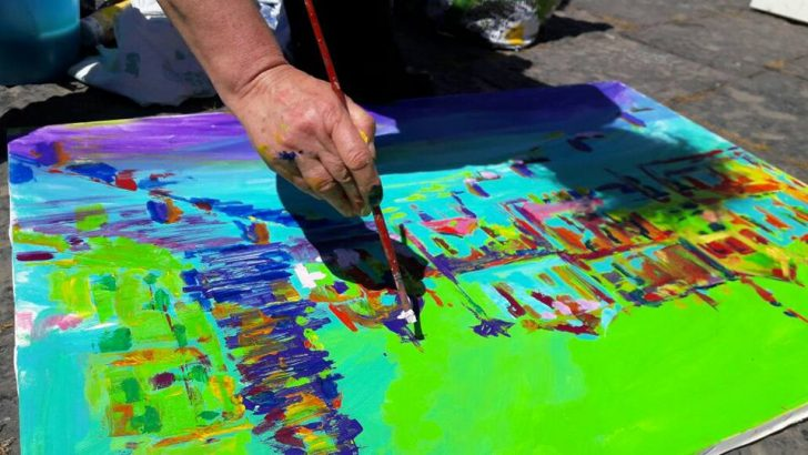 Premiazione del concorso di pittura estemporanea 'L'Arte a Sant'Eligio e piazza Mercato'