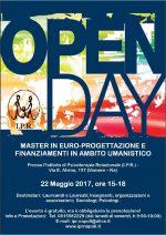 Napoli, 22 Maggio 2017: Open Day Gratuito. Master in Europrogettazione e finanziamenti in ambito umanistico
