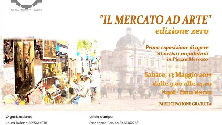 Piazza Mercato si riveste d'arte il giorno 13 maggio