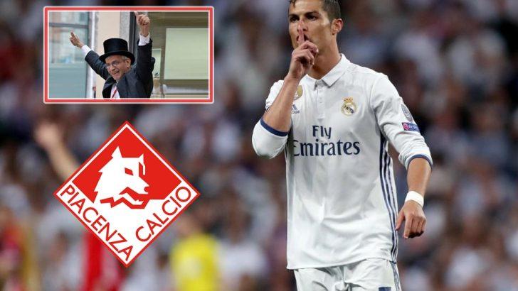 Clamoroso, anche il Piacenza su Cristiano Ronaldo