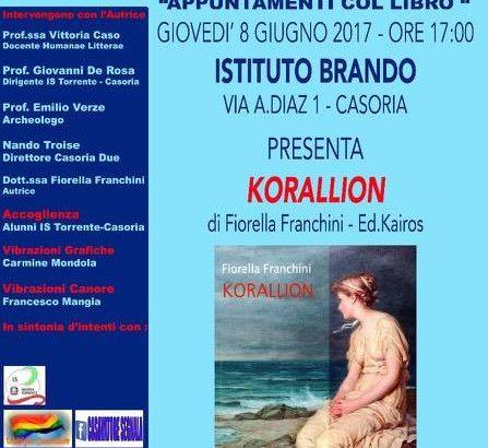 Appuntamenti col libro KORALLION di Fiorella Franchini