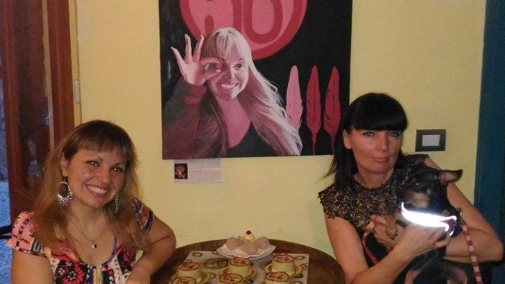 La tombola si fa arte nel Centro Storico di Napoli grazie a Barbara Karwowska e alla pasticceria Mazz