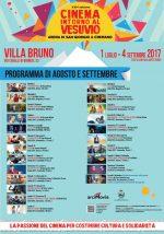 Cinema intorno al VesuviopressoVilla Brunoa San Giorgio a Cremano