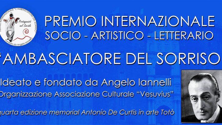 Premio Ambasciatore del Sorriso 2017 dedicato a Toto'.