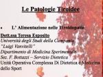 """Convegno su """"Patologie tiroidee"""" presso la Biblioteca Comunale di Casoria"""
