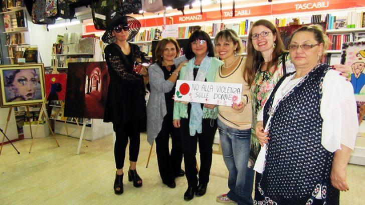 Grande successo per la mostra FEMmINAe ARTE presso A-Store Srls in Via Port'Alba, Napoli