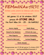 FEMmINAe ARTE, artiste unite contro la violenza sulle donne nella mostra voluta dalla giornalista Emilia Sensale