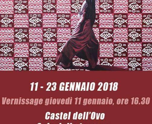 A gennaio 2018 ci sarà la mostra antologica di Barbara Karwowska a Castel dell'Ovo