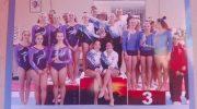 """L'associazione di Ginnastica Artistica """"Egy Dance"""" 1^ classificata al Torneo delle Regioni"""