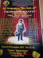 "Lo spettacolo ""EMIGRANTI"" al Teatro Gelsomino"