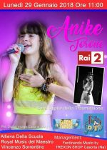 Lunedì in onda su Rai 2 la casoriana Anike Torone