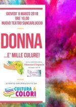 """""""Donna… e' mille culure!"""", un evento dedicato alle donne che colorano la nostra vita"""