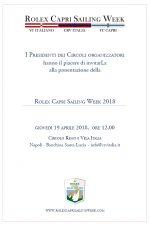 SAVE the date_19 aprile_ Rolex Capri Sailing week_presentazione alla stampa