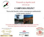 """Al via """"Campania Felix"""", una serata di riflessione sullo stato di salute dell'ambiente i Campania"""