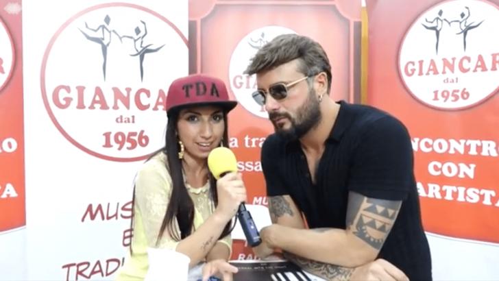 Intervista firmacopie del nuovo album di Alessio a cura di Teresa d'Angelo