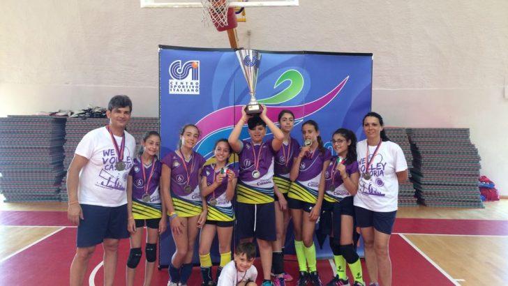 Orgoglio casoriano: Casoria Volley under 12 si laurea Campione d'Italia