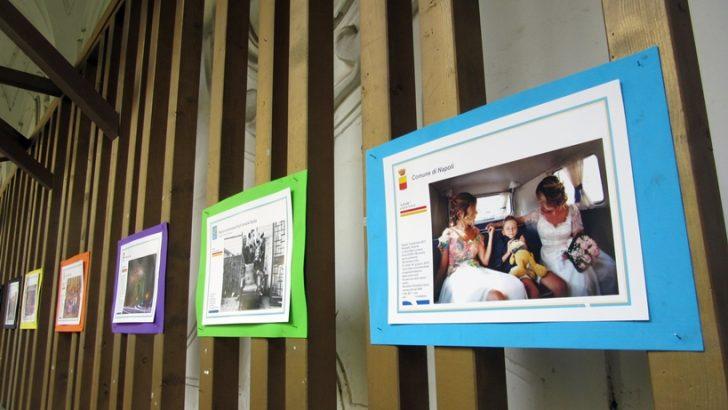 È arrivata a Napoli la mostra 'Famiglie' dedicata alle Famiglie Arcobaleno