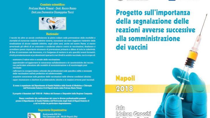 A Napoli il corso sull'importanza della segnalazione delle reazioni avverse successive alla somministrazione dei vaccini
