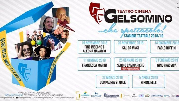 Gabbianella Club presenta la stagione teatrale 2018/19 del Gelsomino