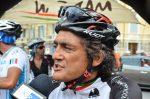 Chiappucci scatta a Capri in bici all'inseguimento della leggenda Fausto Coppi