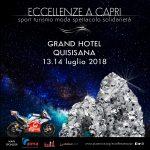 Capri accoglie Chiappucci tra sport, natura, turismo e glamour