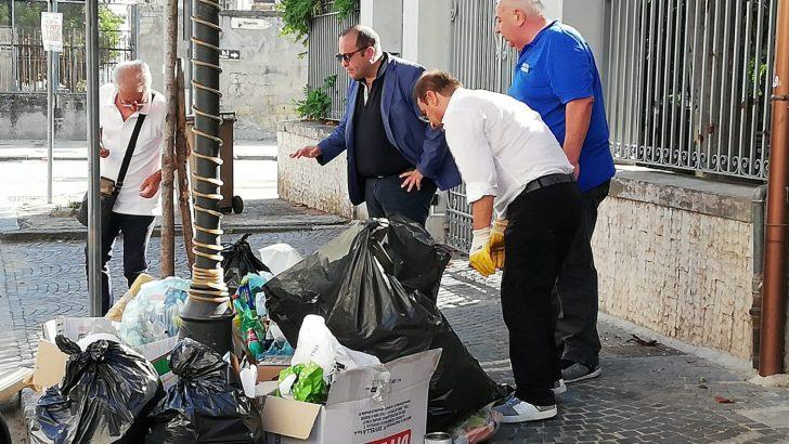 FOTOGALLERY – Lotta contro l'emergenza rifiuti, individuati 20 trasgressori