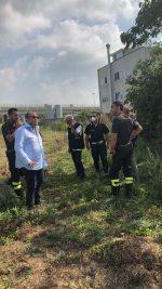 Casoria, altro intervento dei Vigili del Fuoco per sventare un incendio