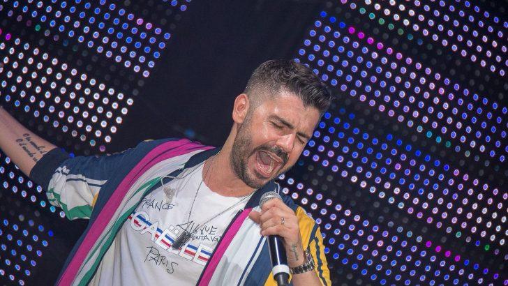 Gianni Fiorellinoin concerto al Palapartenopeil 10 novembre 2018