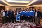La GeVi Napoli Basket incontra il Presidente della Regione De Luca