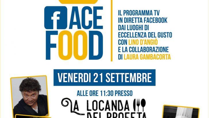 Nasce FaceFood, il nuovo format di Lino D'Angiò dedicato al mondo del gusto in collaborazione con Laura Gambacorta