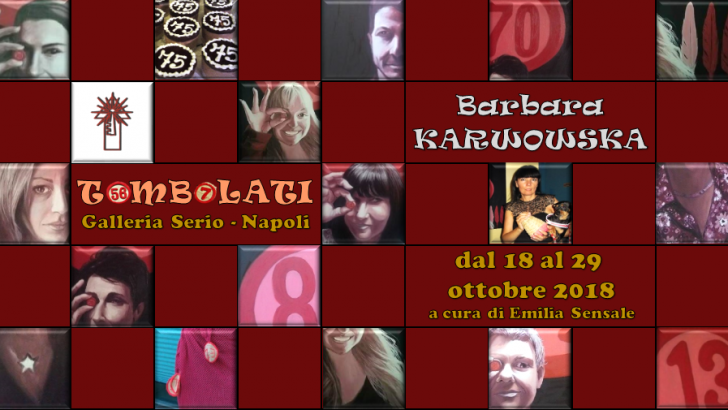 Giovedì 18 ottobre ci sarà il vernissage dell'attesa mostra 'Tombolati' con le opere di Barbara Karwowska