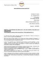 Elena Vignati: controdeduzioni in merito al servizio di vigilanza di Casoria Ambiente