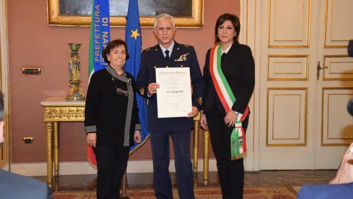 Premiazione dei Cavalieri Castiello ed Esposito