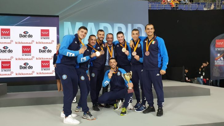 Luca Maresca medaglia di bronzo a Madrid