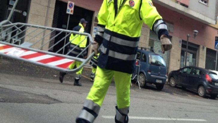 Palazzo pericolante in via Principe di Piemonte, evacuate 24 famiglie